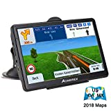 "Car GPS Navigation, AONEREX 7"" Touch Screen 8GB Real Voice Spoken Turn-by-Turn Direction"