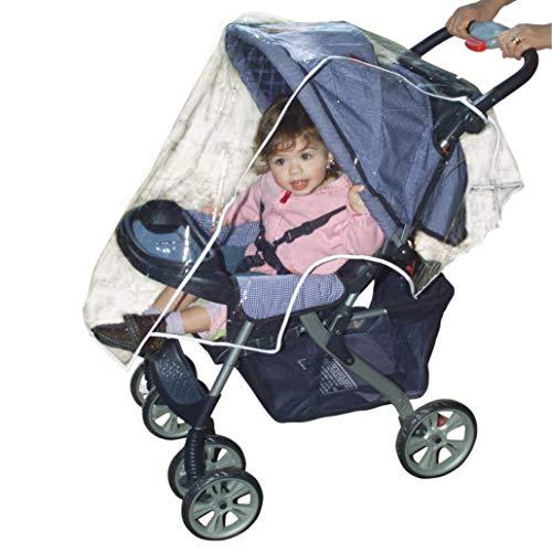 Imagen para Dreambaby F201 Protección para silla de paseo, color transparente y blanco