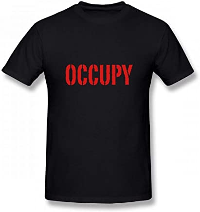 Occupy Wall Street Customizable Personalized Men's T-Shirt tee