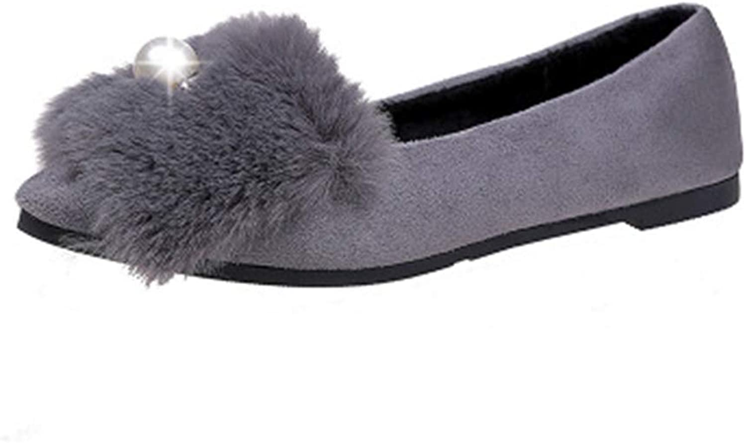 Women's Pointed Flat shoes Shallow Flat Loafer Casual Soft shoes