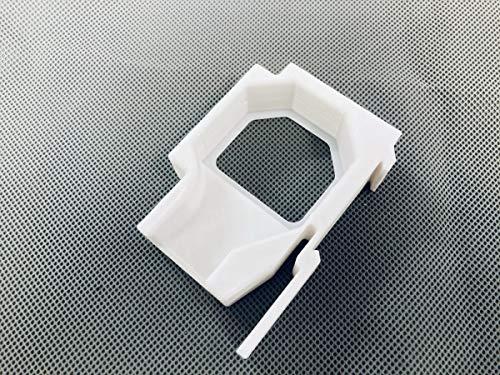 Hutschienenhalter kompatibel für Shelly Dimmer 2 Adapter Halter für 35 DIN Hutschiene Rail Sicherungskasten/Verteilerschrank WEIß