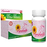 FEMINELLE Original Formula - PMS & MENOPAUSE Relief - Hot Flashes, Insomnia, Night Sweats, Mood Swings, Weight Gain, Hair Loss, Irritability, Fatigue, Stress, Anxiety, Headaches, Low Sex Drive, Chills