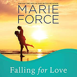 Falling for Love     Gansett Island Series, Book 4              Written by:                                                                                                                                 Marie Force                               Narrated by:                                                                                                                                 Holly Fielding                      Length: 7 hrs and 19 mins     1 rating     Overall 5.0