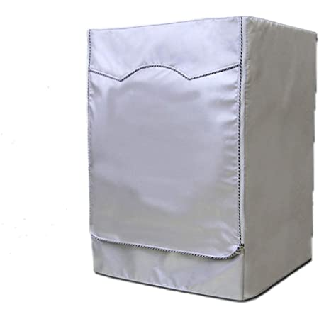 anaoo Housse pour Machine Lave-Linge, Couverture Machine à Laver, Couvercle de Protection en Tissu Polyester, Anti-Poussière, Anti-Soleil, Anti-Pluie, Taille L, 55 * 60 * 85 CM