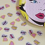 Pop Art Girl Konfetti