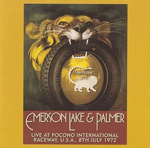 Emerson, Lake & Palmer: Live At Pocono International Raceway, Long Pond, Pa, U.S.A., 9th July 1972 [2xWinyl]