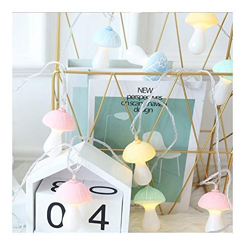 Guirlande Lumineuse Étanche Aux Champignons, Led Party Fairy Light Décoration Intérieure Et Extérieure À Piles Votre Placard Terrasse Lit (Couleur : 9.8FT 20LED-battery)
