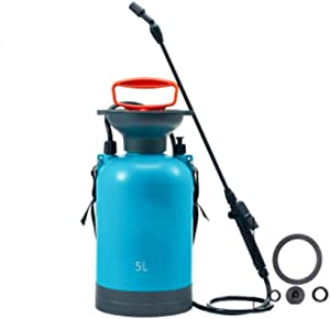 QFQ Large-Capacity High-Pressure Watering Can, Garden Watering, Can Be Used for Disinfection and Cleaning 5L ph