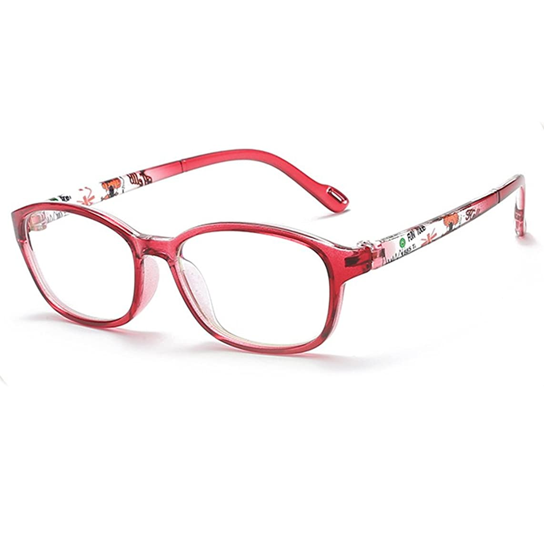 Fantia Non-Optical Frame Kids Eyeglasses Children Eyewear Age 4-12