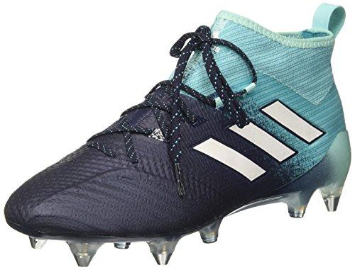 adidas Ace 17.1 SG, Scarpe da Calcio Uomo, Blu (Energy Aqua/Footwear White/Legend Ink), 41 1/3 EU