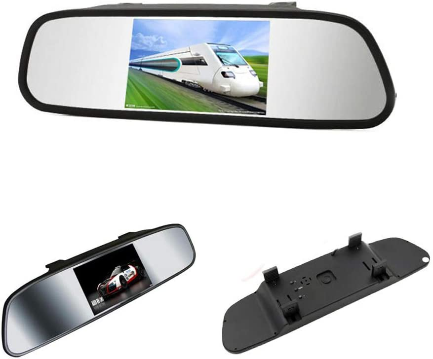 VIGORWORK 5 inch Digital Tft LCD Ca Monitor View discount Max 52% OFF Rear Mirror car