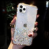 GIZEE for iPhone 11 Case, Luxury Bling Diamond Crystal Glitter Girly Bling Sparkle Shockproof Soft TPU Protective Phone Case (Clear)