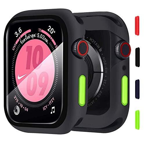 KUMARS - Carcasa para Apple Watch de 42 mm Series 3/2/1 +...