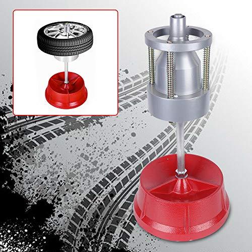 Wangkangyi Reifenwuchtmaschine Tragbare Auswuchtmaschine Naben Rad Balancer Gilt für Naben mit einem Durchmesser von 1 bis 4 Zoll