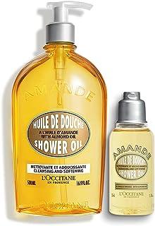 L'Occitane Nourishing Almond Shower Oil Jumbo Pack, 535ml