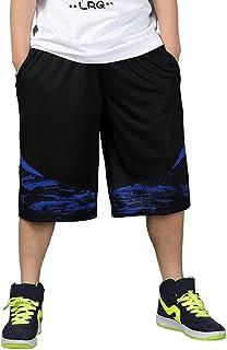 Cartoden 袴パンツ バスケットボール バスパン ゆったり ハーフパンツ バギーパンツ ヒップホップ 大きいサイズ 通気性 B-3005