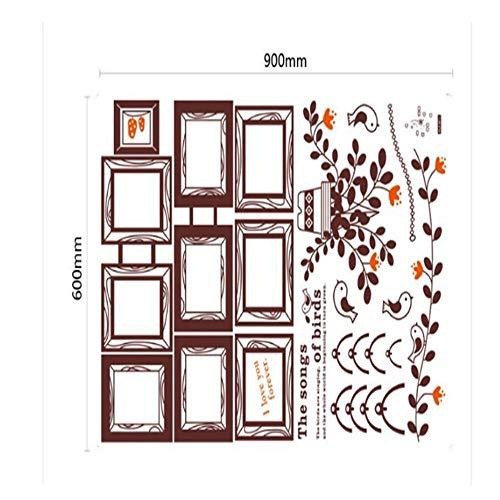 WTTTL Sticker Mural Sticker Mural Autocollant animalierPhoto Album Stickers Muraux Grand Sizedecoration Enfants Sommeil Autocollant Décor À La Maison pour Chambre d'enfants Stickers Muraux