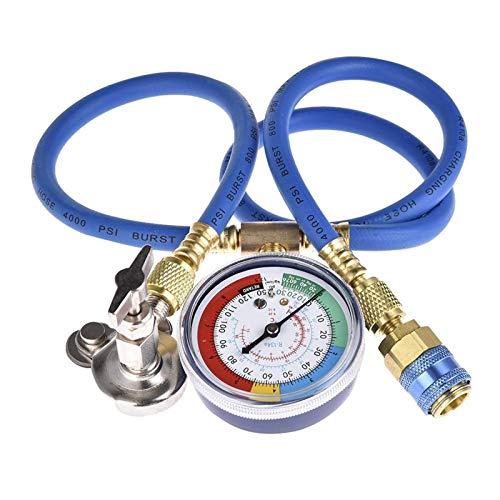Lyjun® R134A El Gas de la Manguera de Recarga de refrigerante Puede Tocar la tubería de Ajuste para R502 R-12 R-22 Refrigerante de la Botella de frigorífico Reparación