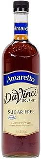 DaVinci Gourmet Sugar Free Amaretto Flavored Syrup 2 Bottles