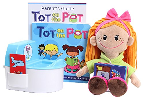 Potty Training with Tot On The Pot (Light Girl) - Complete Kit Includes Parent's...