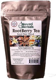 Nuwati Herbals RootBerry Herbal Tea, Root Beer Blend, 4 ounces