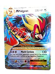 A single individual card from the Pokemon trading and collectible card game (TCG/CCG). This is of Holo Rare ex rarity. From the XY Evolutions set. You will receive the Holo version of this card.