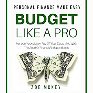 Budget like a Pro audiobook cover art
