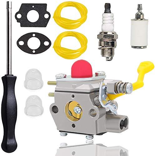 BVM200VS Carburetor for Poulan 545081831 545-09292 Walbro WT-847 WT-847-1 Carburetor PPB430VS Carburetor Kit with Carburetor Adjustment Tool