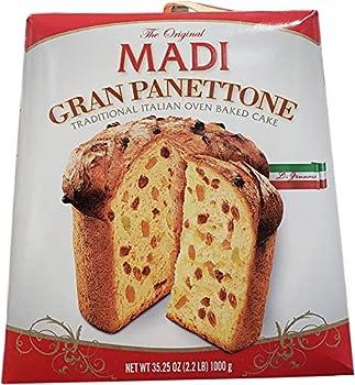 Gran Panettone Italian Cake 35.25 oz  MADI CAKE 1 KG