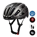 SUNRIMOON Adult Bike Helmet, Bicycle Helmet CPSC Certified with Rechargeable LED Light, Upgrade U...