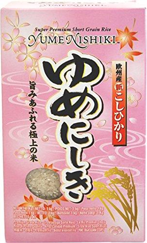 Yumenishiki Arroz, Tipo Japonés - 1000 gr