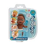 Giochi Preziosi CC002400 Baby Afro, Mini Figurine Morbidoso avec Accessoire, Multicolore