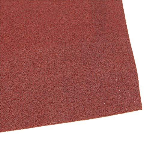 Great Deal! Xucus 115mm x 5m Aluminium Oxide Sanding Roll 40/60/80/120/180 Grit SandPaper Sander Abr...