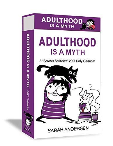 Sarah's Scribbles 2021 Calendar: Adulthood Is a Myth
