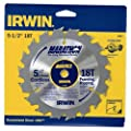 IRWIN Tools MARATHON Carbide Table/Miter Circular Blade
