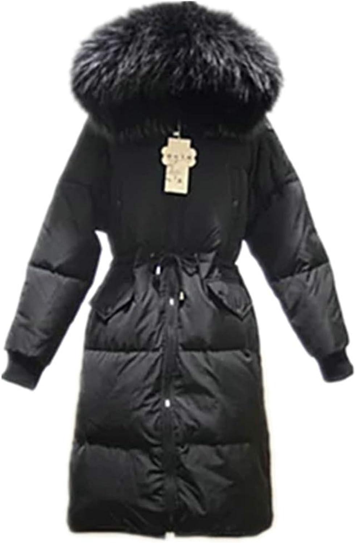 Big Fur Collar Ladies Thick Down Jacket Women Coat