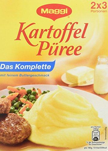 Maggi Kartoffelpüree Komplett, 7er Pack (7 x 2X3 St. Packung)