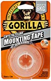 Gorilla Glue Heavy-Duty Double Sided Mounting Tape Clear 25mm x 1.5m