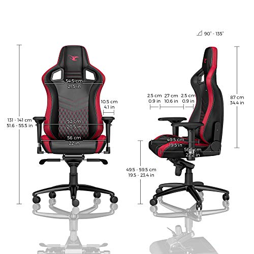 Strange Noblechairs Epic Series Gaming Chairs Gaming Chairz Ibusinesslaw Wood Chair Design Ideas Ibusinesslaworg