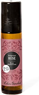 Edens Garden Rose Bulgarian Absolute Oil, 100% Pure Therapeutic Grade (Pre-Diluted & Ready To Use- Anxiety & Skin Care), 10 ml Roll-On