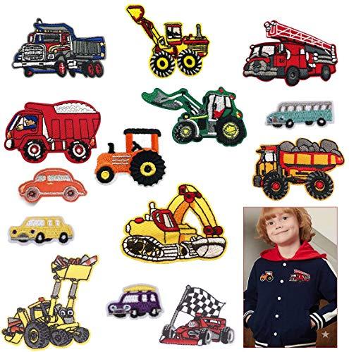 Sunshine smile Patch Sticker Cars,aufnäher Kinder,Zum Aufbügeln für DIY,Patches zum Aufbügeln,Applikation Flicken Zum Aufbügeln,Patch Sticker,Patch Sticker Kleidung,Jeans Kleidung Patches