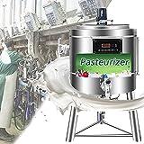 BLLJQ Calentador de Leche Industrial, Pasteurizador Comercial Máquina con...