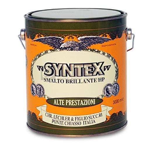 Synthetische nagellak Sintex kleur groen smaragd 375 ml voor ijzer en hout