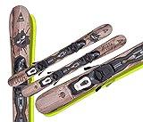 GASPO Snowblades Woody 99cm + Tyrolia Sicherheitsbindung Saison 2020/21