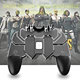 OAHU® Mobile Game Controller with L1R1 L2R2 Triggers, PUBG Mobile Controller 6 Fingers