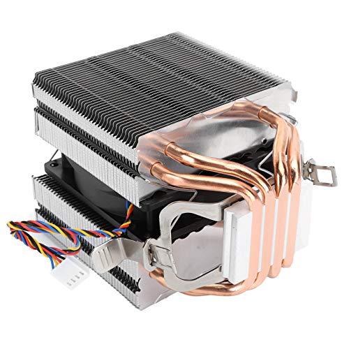 Yctze Disipador de Calor de CPU Kit de refrigeración de CPU Disipador de Calor para Plataforma LGA2011 1366 11501151 1155 1156 con Placa Trasera y Soporte