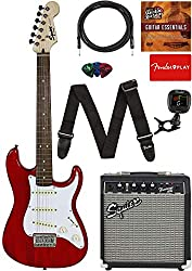 Fender Stratocaster Squier Learn-to-Play Bundle Review