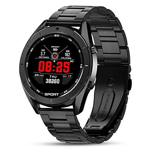 OH Moda Dt99 Inteligente Reloj Ip68 a Prueba de Agua Pantalla de Alta Definición Redonda Ecg Detección Cambiables Diales Smartwatch Rastreador de Ejercicios Hombres Sé diferente/K