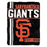 Northwest MLB San Francisco Giants Micro Raschel Throw, One Size, Multicolor