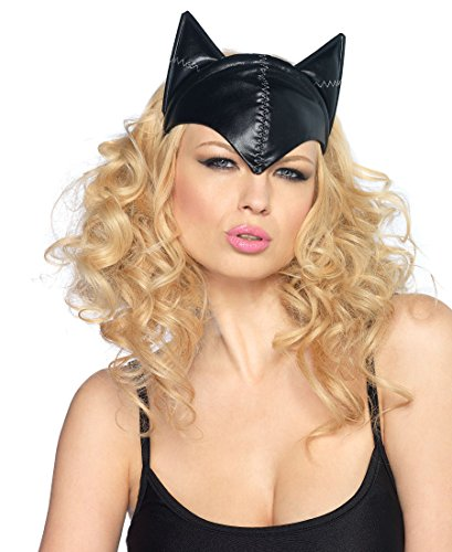 Feline Femme Fatale Cat Mask Costume Accessory